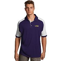 Men's Antigua LSU Tigers Century Polo