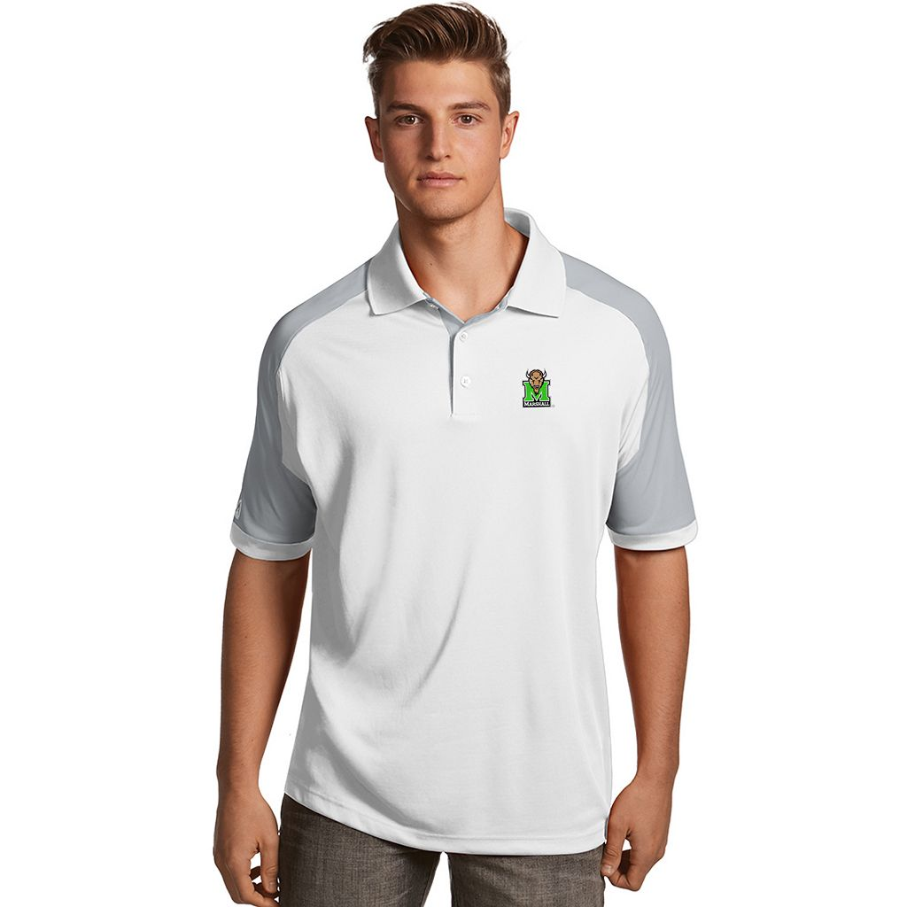 Men's Antigua Marshall Thundering Herd Century Polo