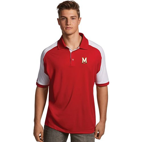 Men's Antigua Maryland Terrapins Century Polo