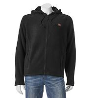 Men's Field & Stream Sherpa-Lined Bonded Fleece Hoodie