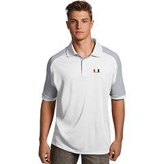 Men's Antigua Miami Hurricanes Century Polo