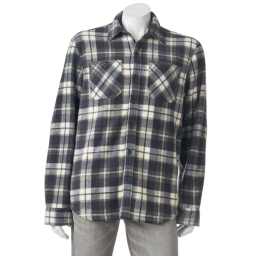 Men's Field & Stream Fleece Shirt Jacket