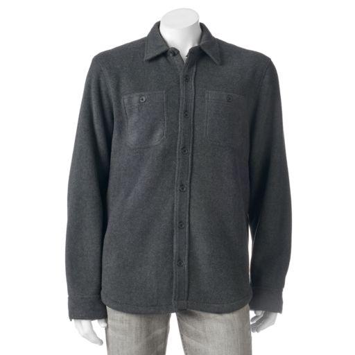 Men's Field & Stream Fleece Shirt Jacket