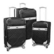 FILA Gabriella 3-Piece Spinner Luggage Set