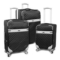 FILA Gabriella 3-Piece Spinner Luggage Set