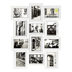 nexxt revet 12 opening collage frame black white