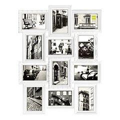 nexxt revet 12 opening collage frame black white