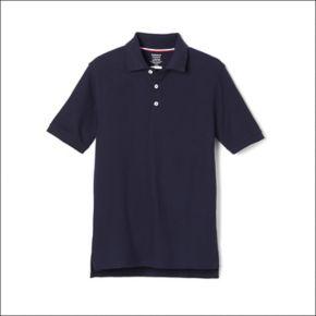 Boys 4-20 French Toast School Uniform Short-Sleeve Pique Polo