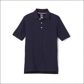 Boys 4-20 & Husky French Toast School Uniform Short-Sleeve Pique Polo