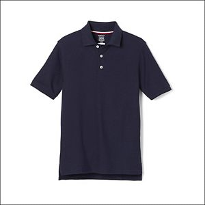 Boys 4-20 & Husky French Toast School Uniform Short-Sleeve Pique Polo