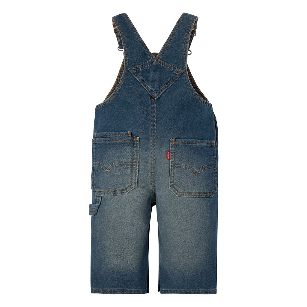 Baby Boy Levi's Knit Overalls