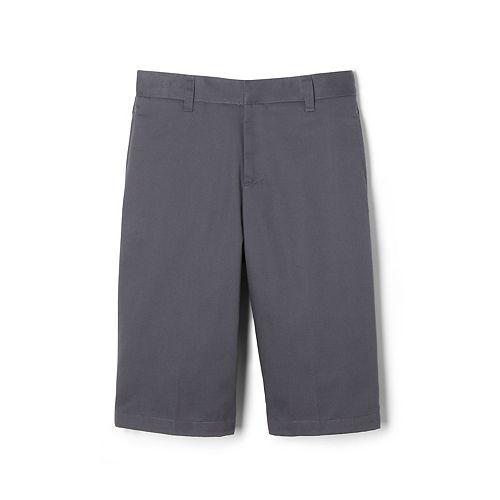 Boys 4-20 & Husky French Toast School Uniform Flat-Front Adjustable-Waist Shorts