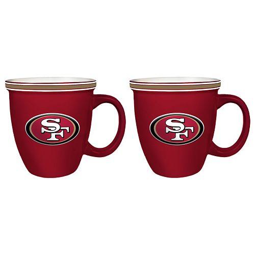 Boelter San Francisco 49ers Bistro Mug Set