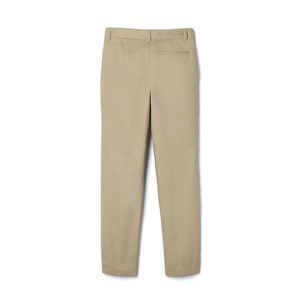 Boys 4-20 French Toast School Uniform Relaxed-Fit Adjustable-Waist Twill Pants