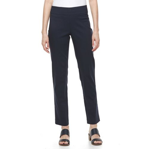 Women's Dana Buchman Slimming Midrise Pull-On Pants