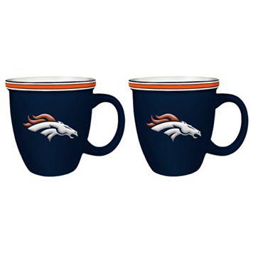 Boelter Denver Broncos Bistro Mug Set