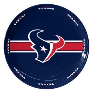 Boelter Houston Texans Serving Plate