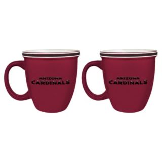 Boelter Arizona Cardinals Bistro Mug Set