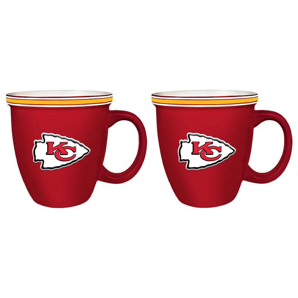 Boelter Kansas City Chiefs Bistro Mug Set