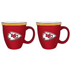Boelter Kansas City Chiefs Bistro Mug Set