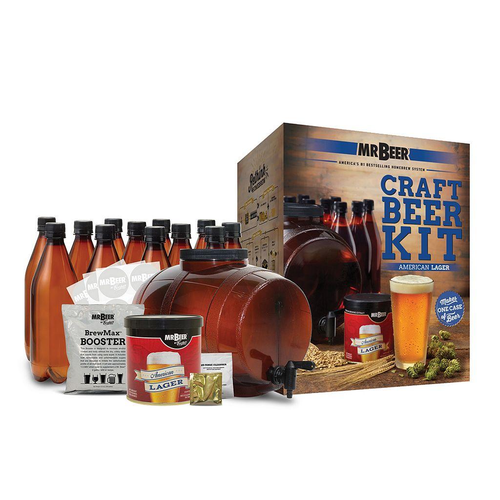 Mr. Beer American Lager Homebrewing Craft Beer Kit