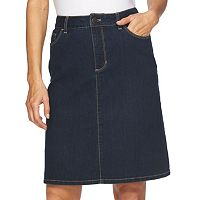 Women's Croft & Barrow® Classic Fit Jean Skirt