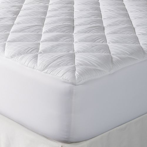 Dream On Stain Resistant 300 Thread Count Mattress Pad