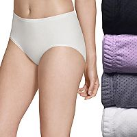 Fruit of the Loom 4-pack Breathable Micro Mesh Low Rise Briefs 4DBKLRB