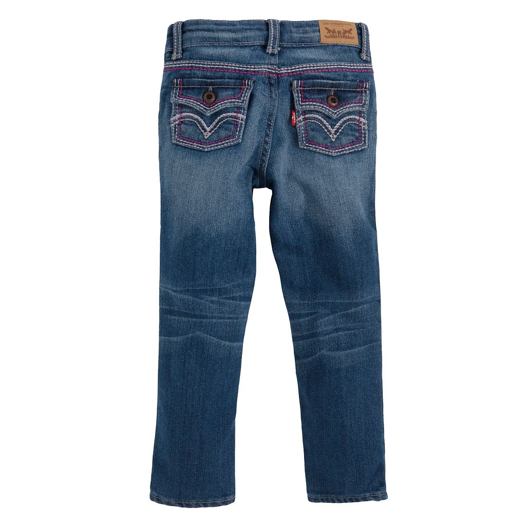 Toddler Girl Levi's 711 Taryn Thick Stitch Skinny Jeans