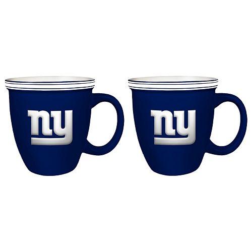 Boelter New York Giants Bistro Mug Set