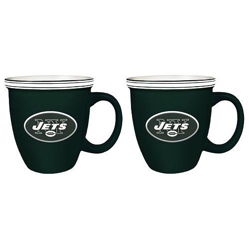 Boelter New York Jets Bistro Mug Set