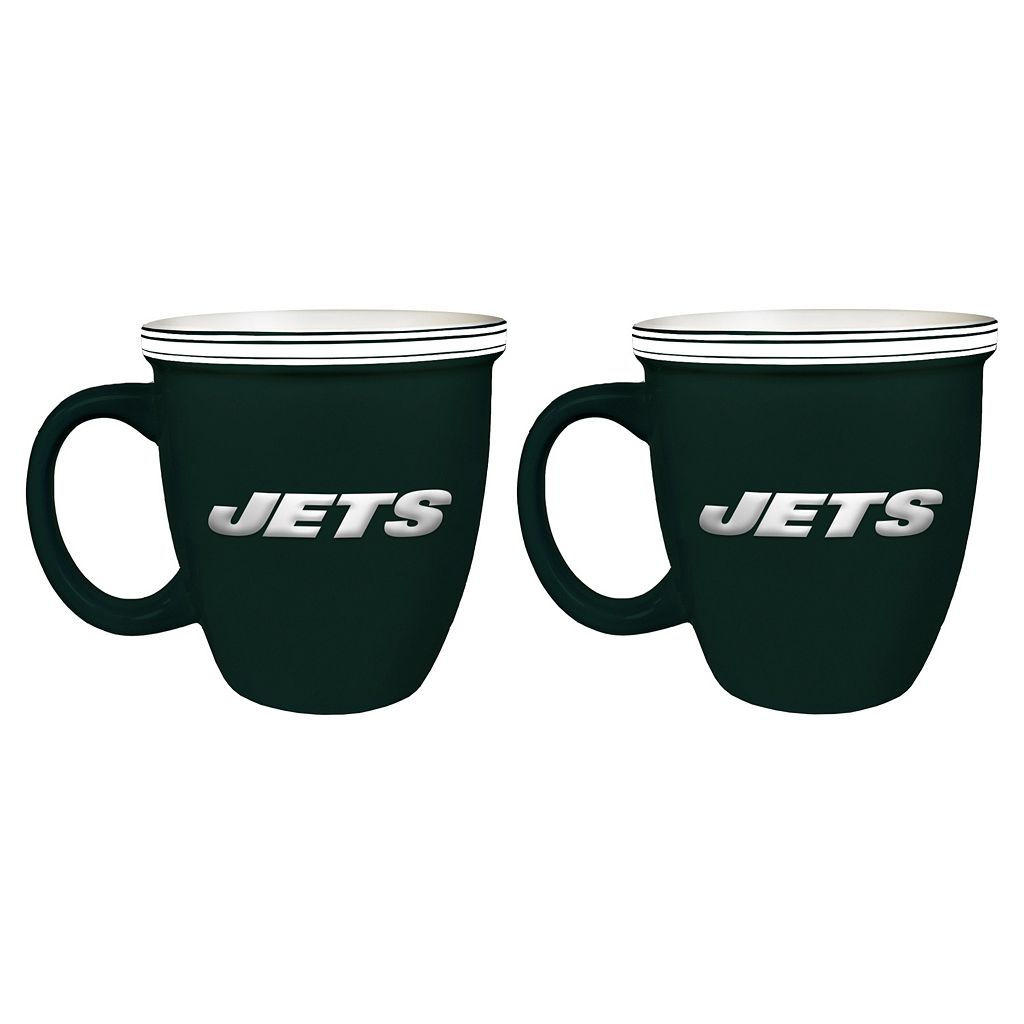 Boelter New York Jets Bistro Mug Set