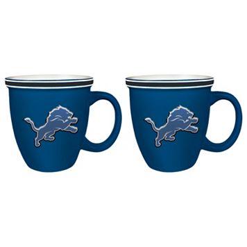 Boelter Detroit Lions Bistro Mug Set