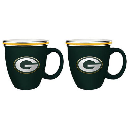 Boelter Green Bay Packers Bistro Mug Set