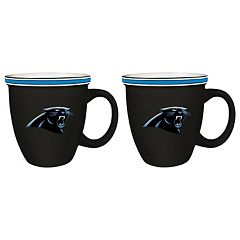 Boelter Carolina Panthers Bistro Mug Set