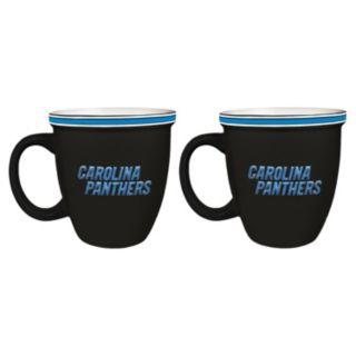 Boelter Carolina Panthers Bistro Mug Set