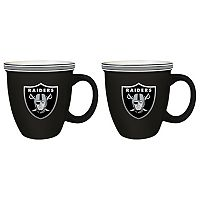 Boelter Oakland Raiders Bistro Mug Set