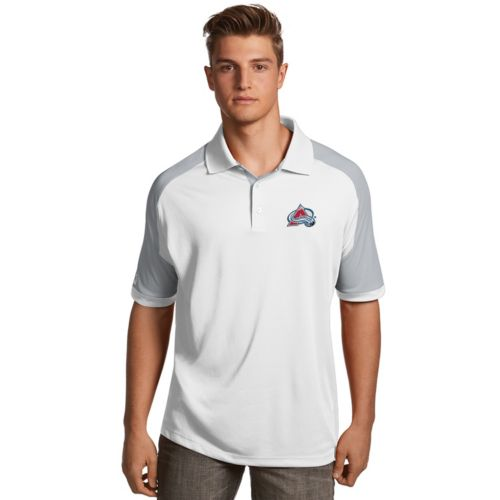 Men's Antigua Colorado Avalanche Century Polo