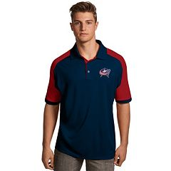 Men's Antigua Columbus Blue Jackets Century Polo