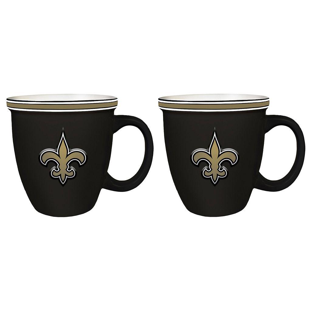 Boelter New Orleans Saints Bistro Mug Set