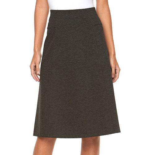 7e31055878 Women's Dana Buchman Ponte Midi Skirt