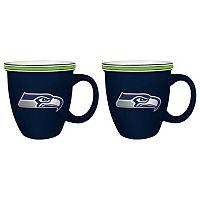 Boelter Seattle Seahawks Bistro Mug Set