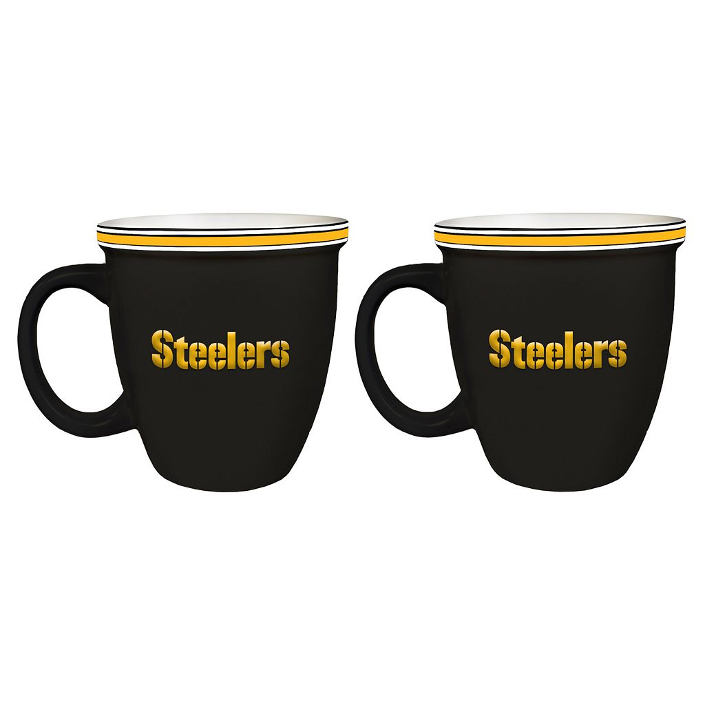 Boelter Pittsburgh Steelers Bistro Mug Set