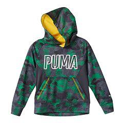 Boys 4-7 PUMA Digital Camouflage Hoodie
