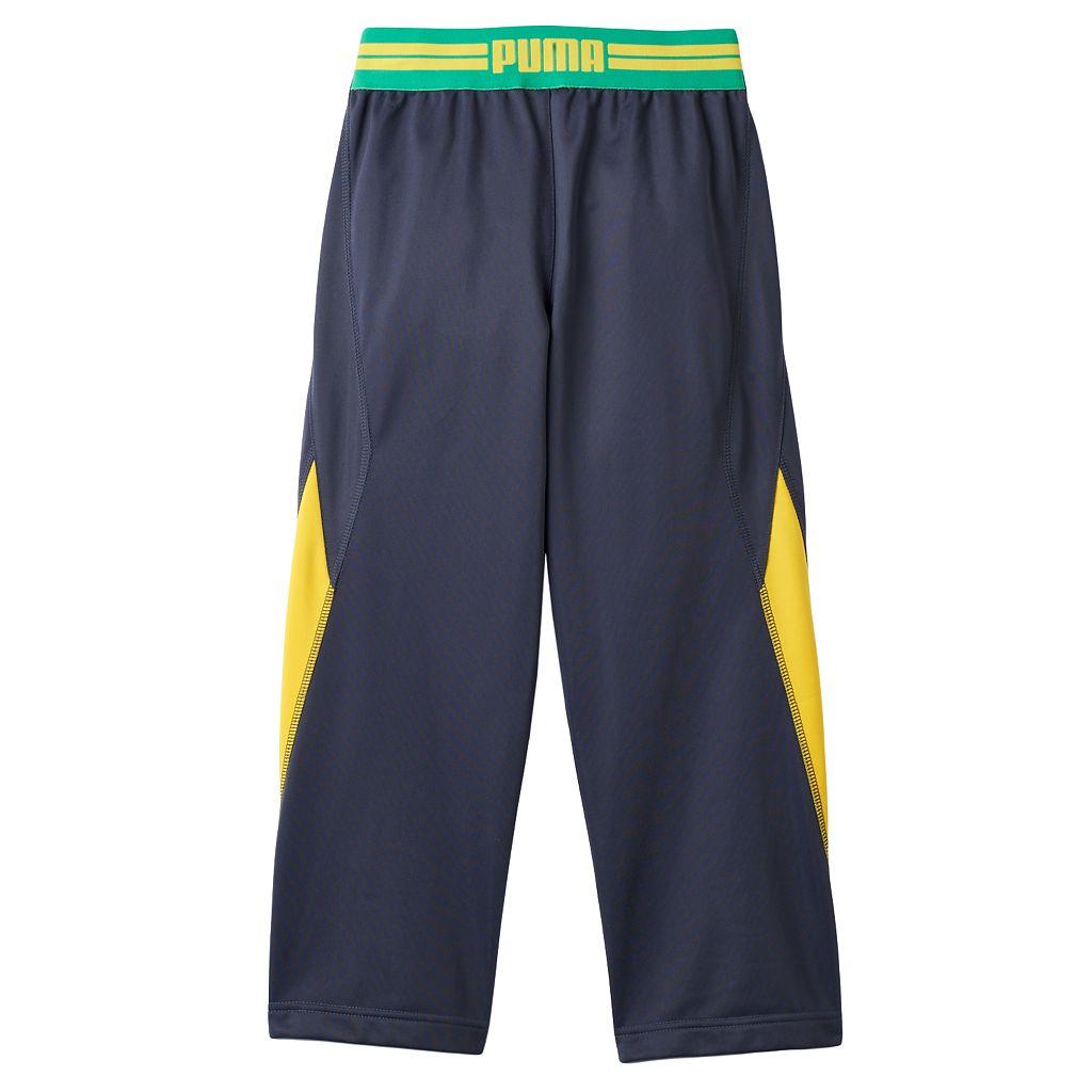 Boys 4-7 PUMA Colorblocked Track Pants