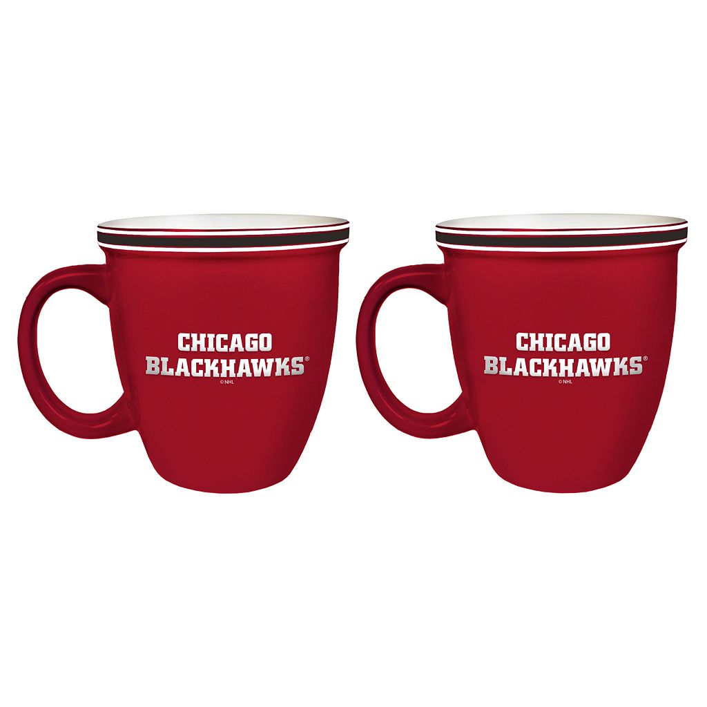 Boelter Chicago Blackhawks Bistro Mug Set