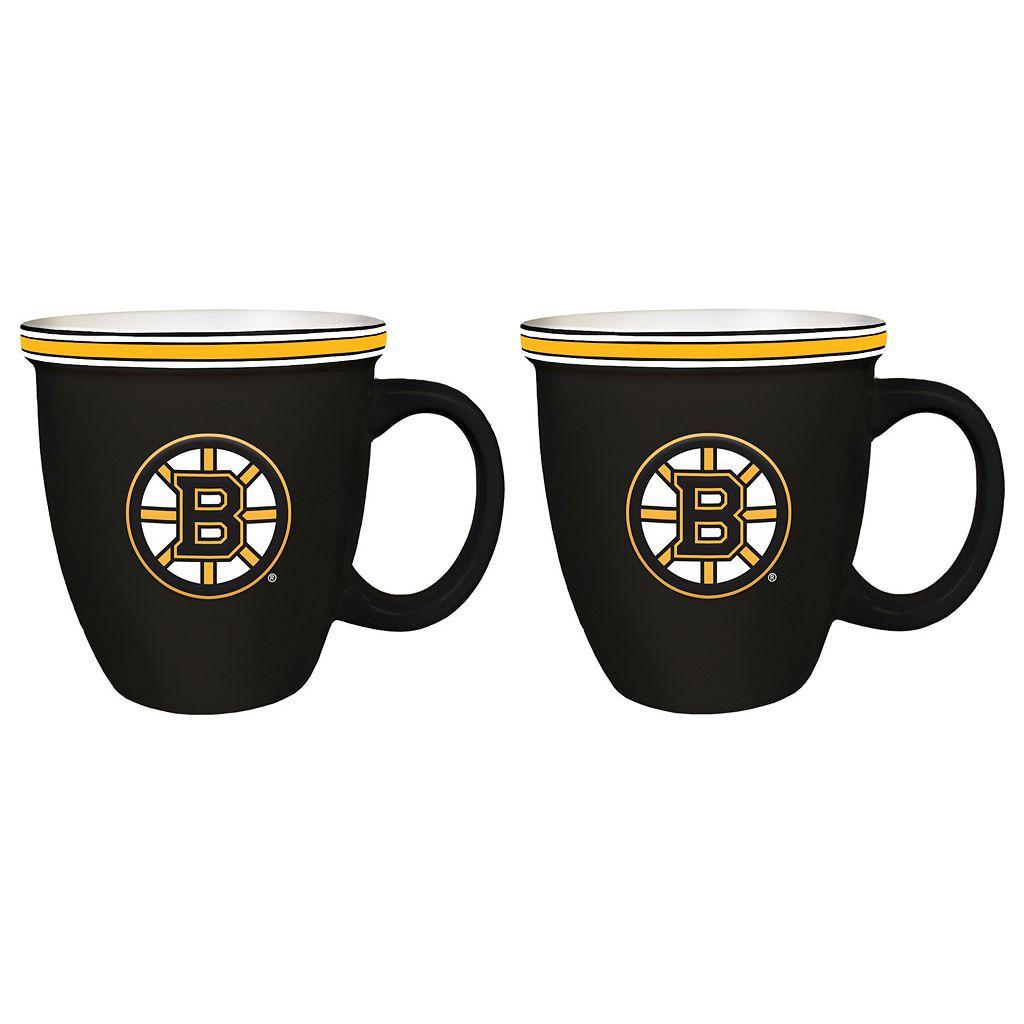 Boelter Boston Bruins Bistro Mug Set