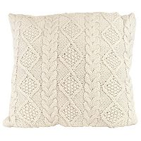 Woven Sweater Throw Pillow