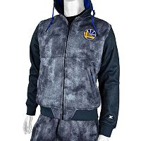 Men's Zipway Golden State Warriors Denim Effect Fleece Hoodie