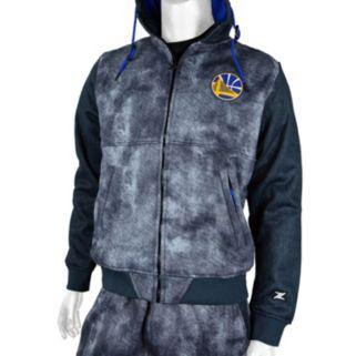 Men's Zipway Golden State Warriors Denim Effect Fleece Hoodie